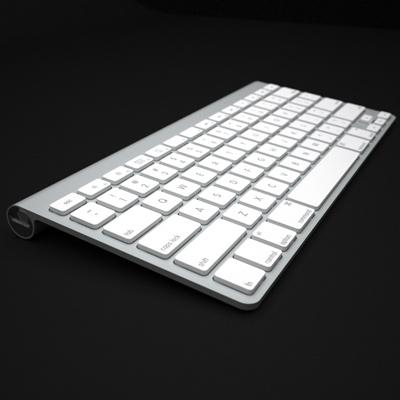 3d model apple mac wireless keyboard