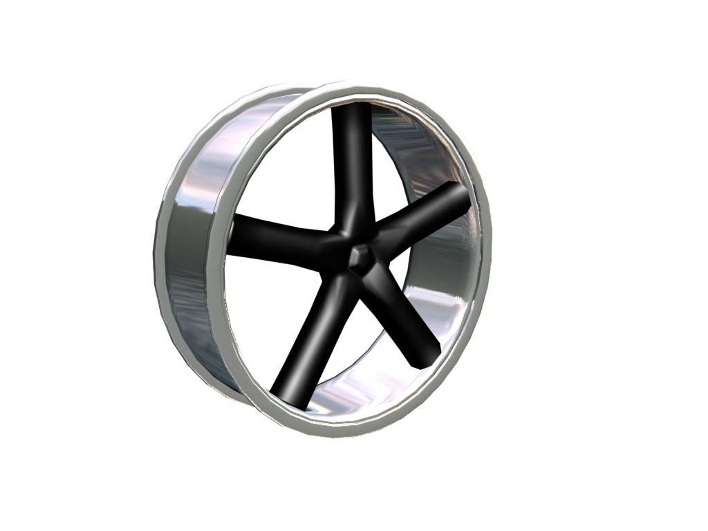 free max model rim black