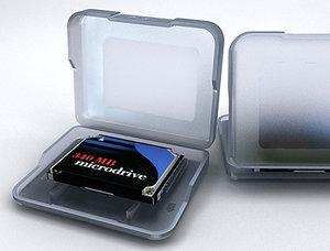 max cf-type storage case 340mb