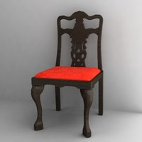 antique chair4.3ds
