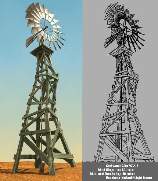 old windmill max