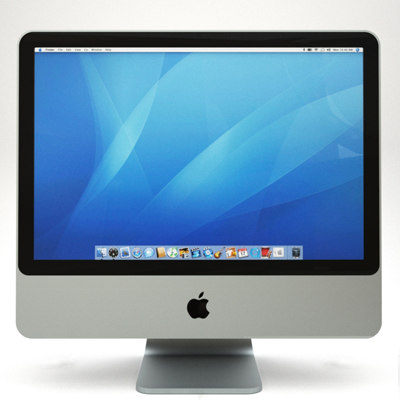 apple imac 4th 3d model