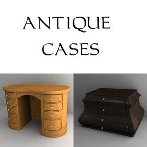 3d antique cabinet