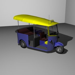 3d model tuk