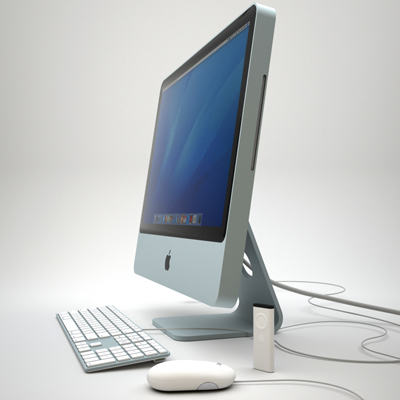 max apple imac 4 wired