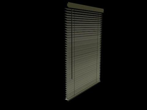 3d model vertical blinds