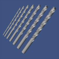 drill bit 3d model