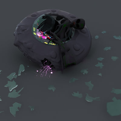creepy ufo crash max