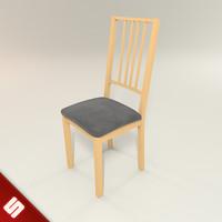 free borje chair 3d model