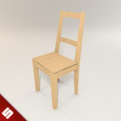 bertil chair 3d model