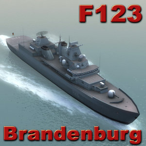 f123 brandenburg ships 3d model