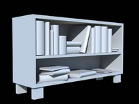 bookshelf.obj