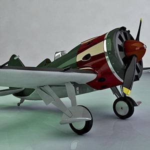 i-16 fighter polikarpov x