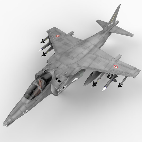 3d av-8 harrier ii model