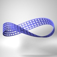 moebius strip 3d model