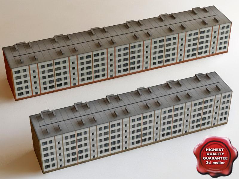 3d low-impact building games model