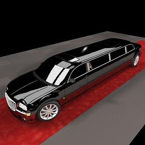 limo chrysler car 300c 3ds
