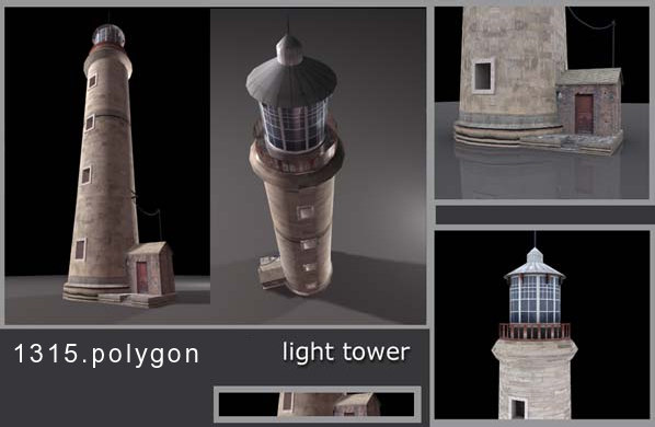 architecture-tower 3d 3ds