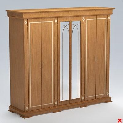 3d max wardrobe cabinet