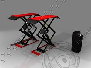 lightwave vehicle scissor lift