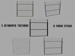 maya fence pack