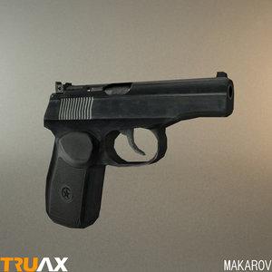 soviet makarov pmm 3d max