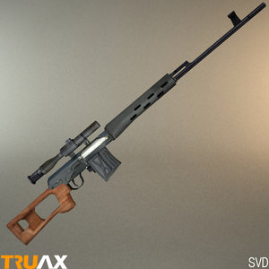 3d model svd sniper