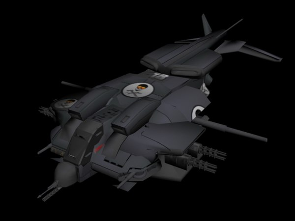 armoured dropship 3ds
