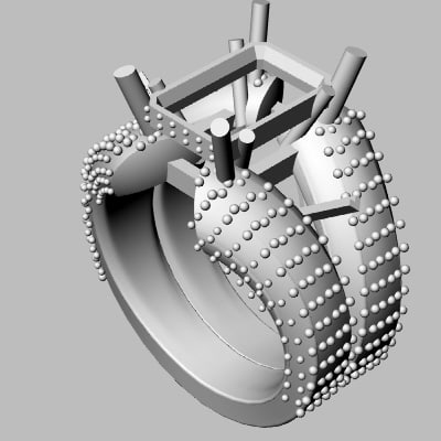 wedding band 3d 3dm