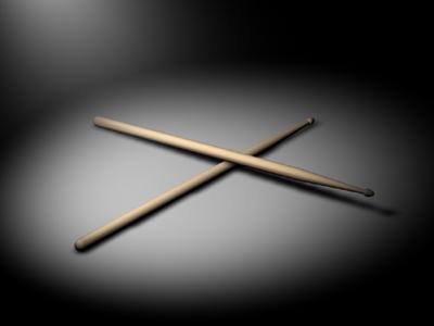 drum stick drumstick c4d free