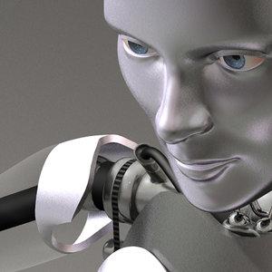 female robot max