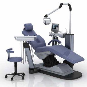 3d model chair dent