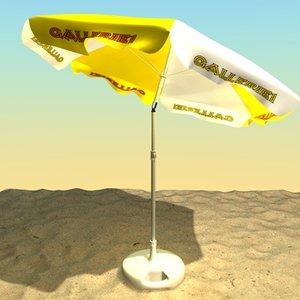 parasol sonnenschirm 3d model