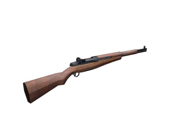 free rifle 3d model