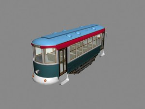 3d victor trolley model