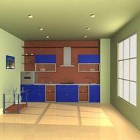 kitchen 3d max