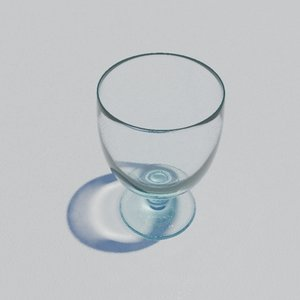 goblet glass 3d max