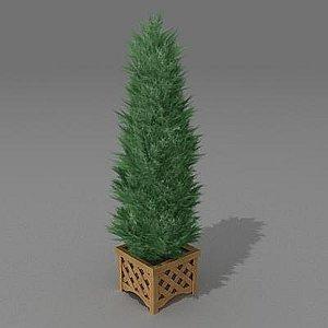 bush garden 3d max