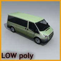 car van 3d model