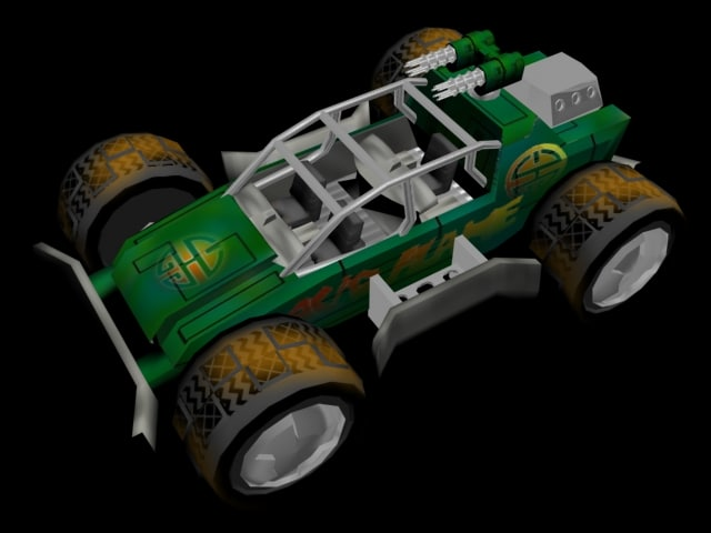 free buggy 3d model