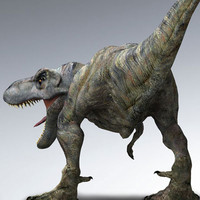 jurassic park t-rex 3d model