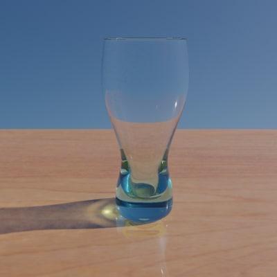 3d pilsner glass