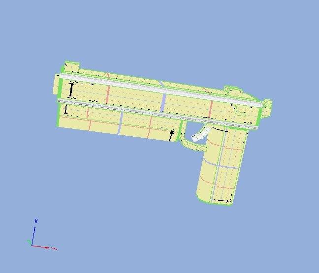 free weapon gun 3d model