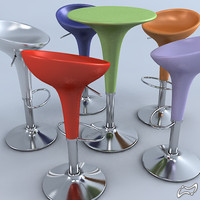 Bombo stool and table