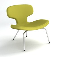 3d model of libel chair rene holten