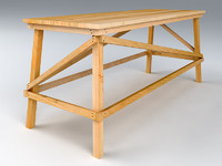 wooden scaffold max