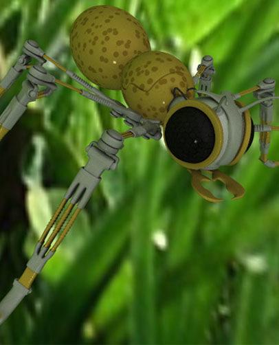 character mechanical ant 3d model