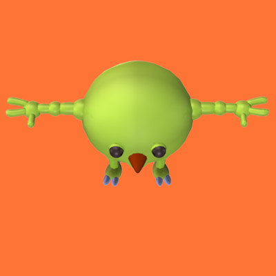 creature character 3d max