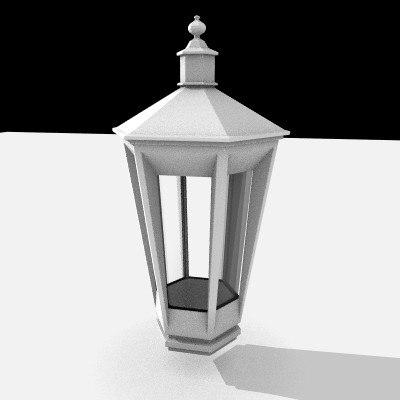 street lamp 3ds