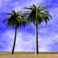 3ds palmtrees palms